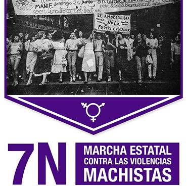 Manifestación contra las violencias machistas#7N