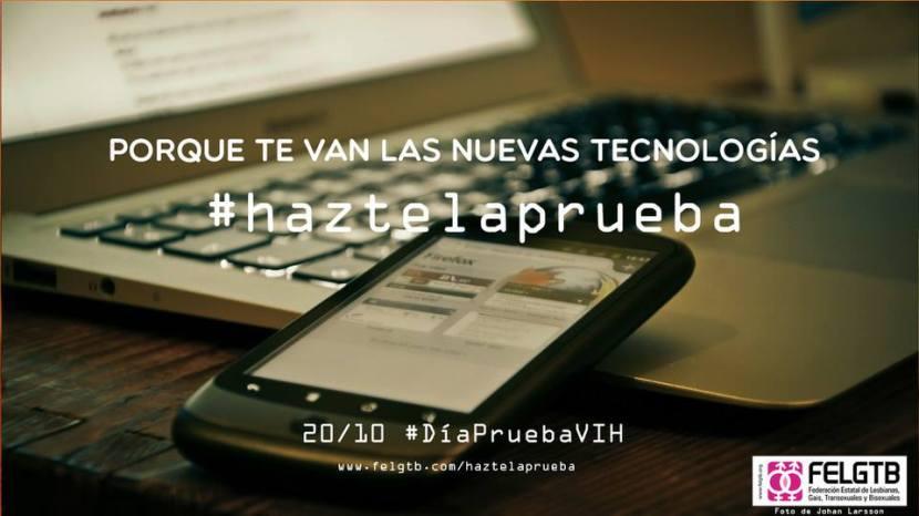 20 de Octubre, #haztelaprueba #stopdiscriminacionvih
