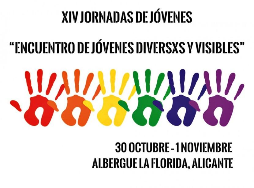 XIV Jornadas de Jóvenes: Encuentro de Jóvenes Diversxs y Visibles enAlicante