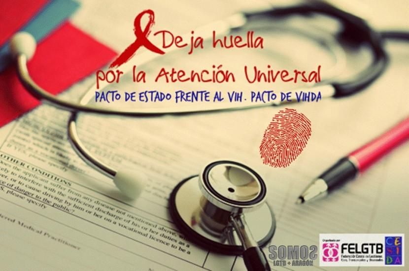 PACTO DE ESTADO FRENTE AL VIH. PACTO DE VIHDA. Manifiesto de SOMOS en el 1 dediciembre