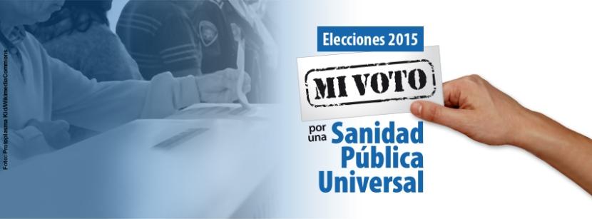 #VotaSanidadUniversal