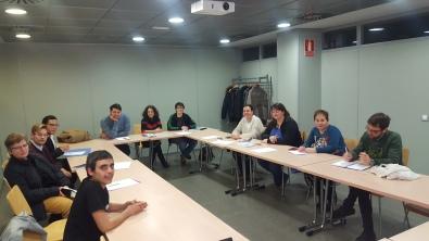 Parte de la Mesa trans Aragón. Reunión 1