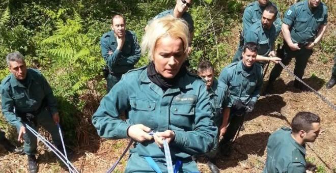 """""""Los altos mandos de la Guardia Civil presionaron para que me retiraran una medalla por serlesbiana"""""""