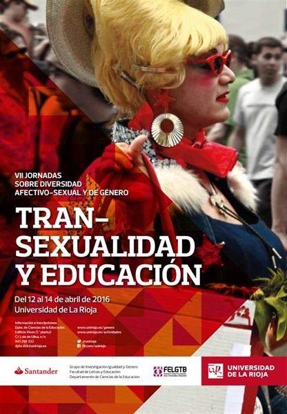 """VII Jornadas sobre diversidad afectivo-sexual y de género: """"Transexualidad y educación"""""""