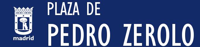 Este sábado se colocan las placas en la plaza Pedro Zerolo enChueca