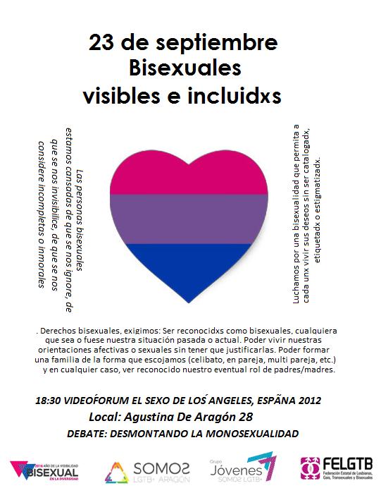 23 de septiembre, Bisexuales visibles e incluidxs en#2016bisexual