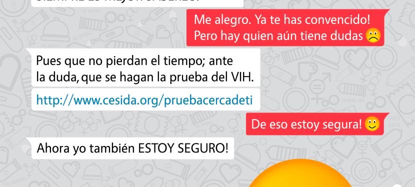 CESIDA lanza la campaña 'Prueba cerca ti' para el diagnóstico precoz del VIH#MeHagoLaPrueba