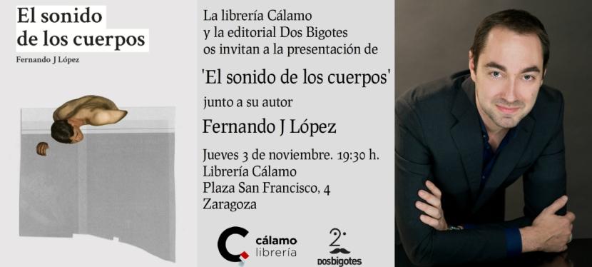 """PRESENTACIÓN DEL LIBRO """"EL SONIDO DE LOSCUERPOS"""""""