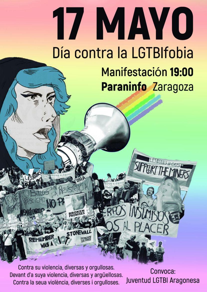 17 de mayo, día contra laLGTBIfobia