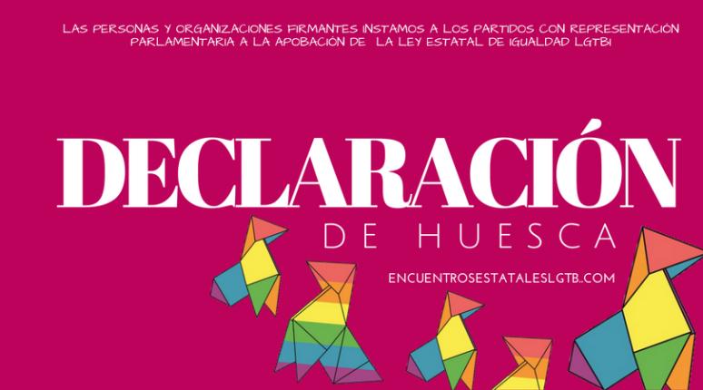 DECLARACIÓN DE HUESCA - FACEBOOK
