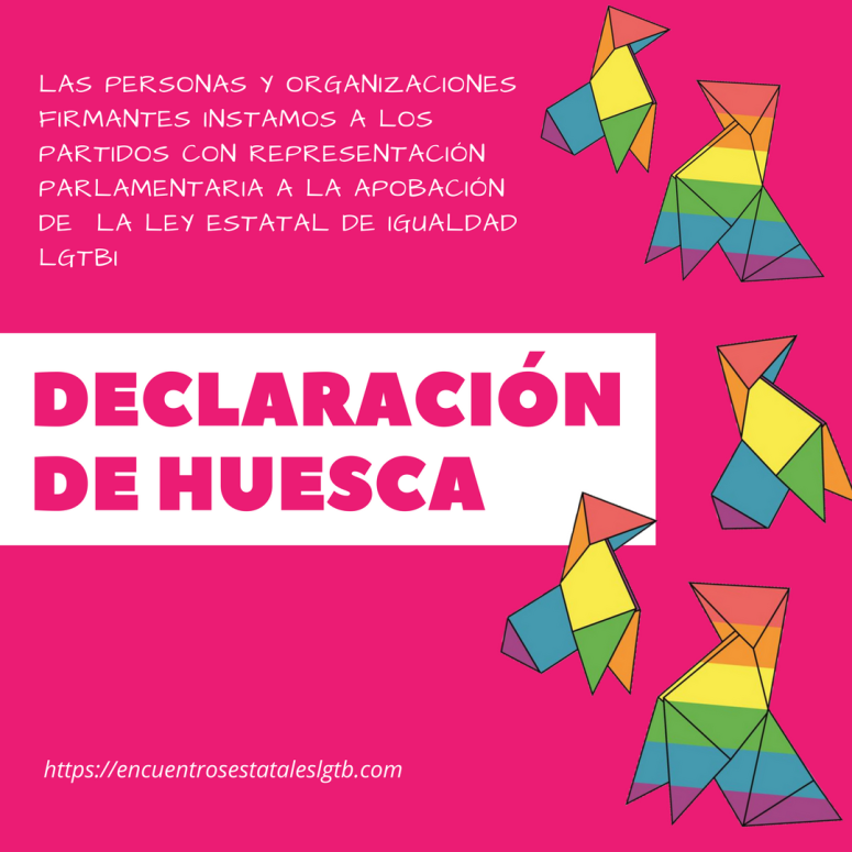 DECLARACIÓN DE HUESCA - INSTAGRAM