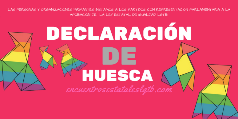 DECLARACIÓN DE HUESCA - TWITTER
