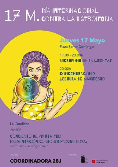 20180517 DÍA CONTRA LA LGTBIFOBIA - HUESCA 01