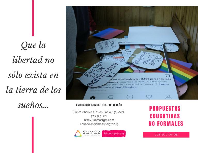 TRÍPTICO PROPUESTAS EDUCATIVAS NO FORMALES 01
