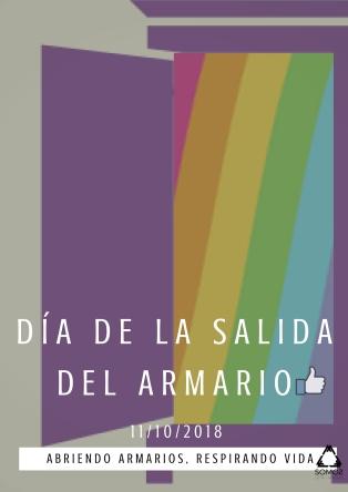 20181011 DÍA DE LA SALIDA DEL ARMARIO - CARTEL GENERAL