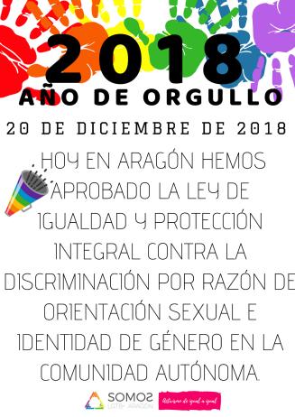 20181220 NdP APROBACIÓN LEY LGTBI ARAGÓN - WEB Y RRSS